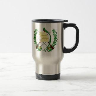 Guatemala vapensköld resemugg