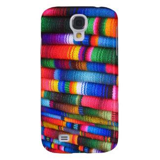 Guatemalanskt tygSpeckfodral 2 Galaxy S4 Fodral