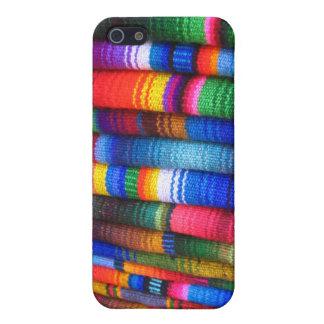 Guatemalanskt tygSpeckfodral iPhone 5 Fodral