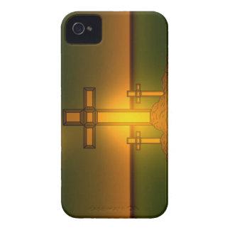Gud Aura tänder över kor av KristusiPhonen Case-Mate iPhone 4 Case