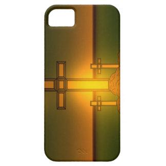 Gud Aura tänder över kor av KristusiPhonen iPhone 5 Skydd
