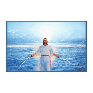 Gud av ljust - Jesus Kristus Canvastryck