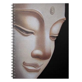 Gud Buddha Anteckningsbok Med Spiral