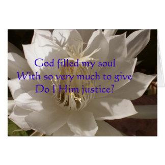 Gud fyllt Soulkort OBS Kort