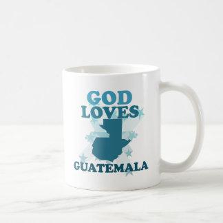 Guden älskar Guatemala Kaffemugg