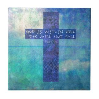 Guden är inom henne den uplifting 46:5 för kakelplatta