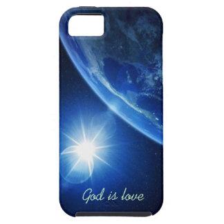 Guden är kärlek iPhone 5 cases