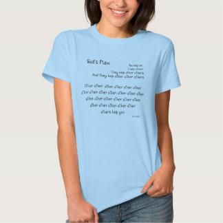 Guden planerar Fundraiserskjortan T Shirts