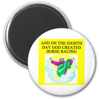 guden skapade hästkapplöpning magnet