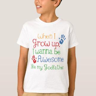 Gudfader för gudbarngåvafantastisk t-shirt