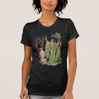 Gudinna av T-tröja för vårdammörk Tröja