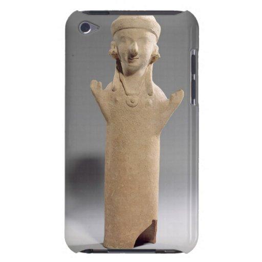 Gudinna eller worshipper med den lyftta ärmar, fig iPod touch cases