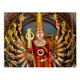 Gudinna med många ärmar vykort