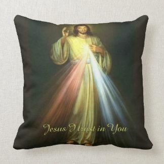 Gudomlig förskoning Jesus som jag litar på i dig Kudde
