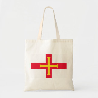 Guernsey flagga budget tygkasse