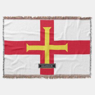 Guernsey flagga mysfilt