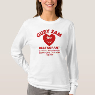 Guey Sam restaurang, Chinatown, Chicago, IL T-shirts