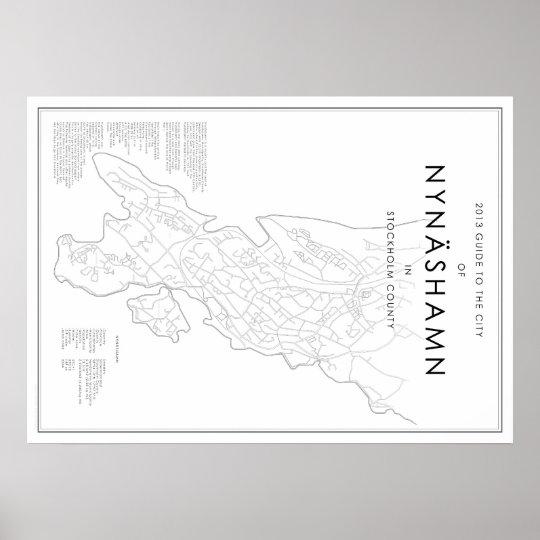 Guide to Nynäshamn Poster