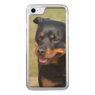 Guileless Rottweiler Carved iPhone 7 Skal