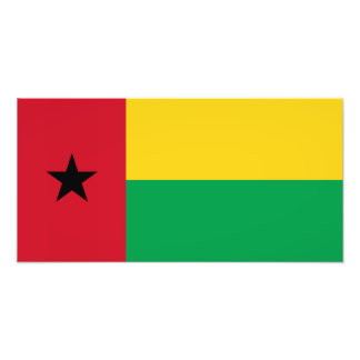 Guinea-Bissau flagga Fototryck