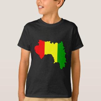 Guinea flaggakarta t shirts