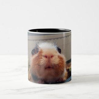 Guinea pig kiss mug Två-Tonad mugg