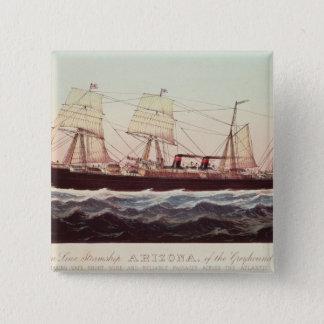 Guion fodrar steamshipen Arizona Standard Kanpp Fyrkantig 5.1 Cm