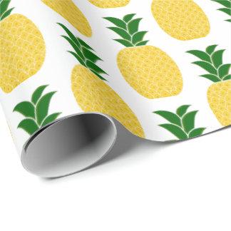 Gul ananas presentpapper