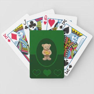 Gul anka spelkort