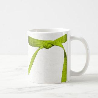 Gul bältemugg kaffemugg