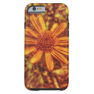 Gul blomma Antiqued foto