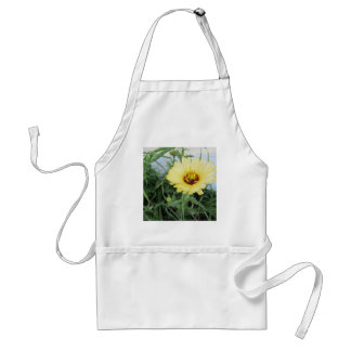gul blomma förkläde