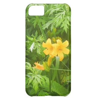 Gul blomma iPhone 5C fodral