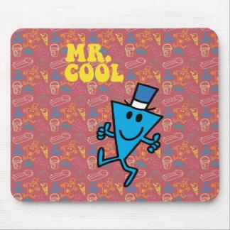 Gul bokstäver för Herr coola | Musmattor