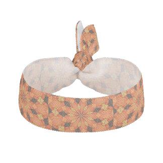 Gul/brun hårtie för orange hårband