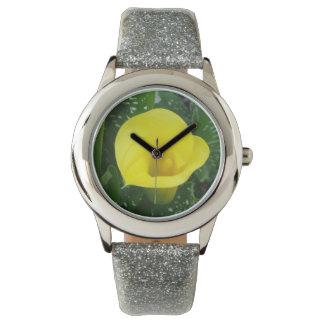 Gul Calla Armbandsur