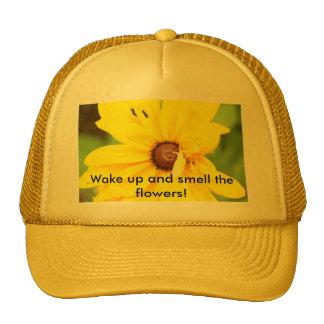 Gul daisyhatt keps