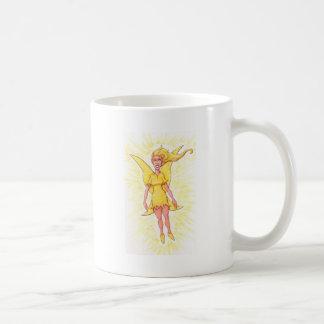 Gul fe kaffemugg