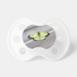 Gul fjäril baby nappar