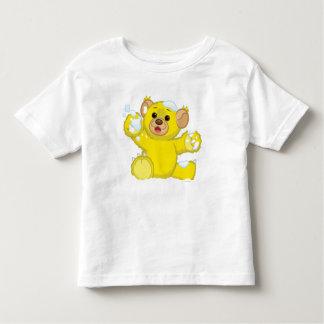 Gul fluffig unge tshirts