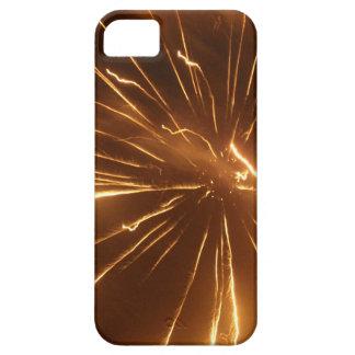 Gul fyrverkeriiphone case iPhone 5 fodraler