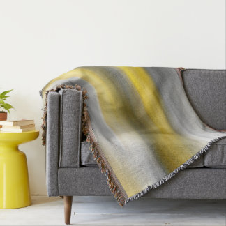 Gul grå lodrätabstrakt filt