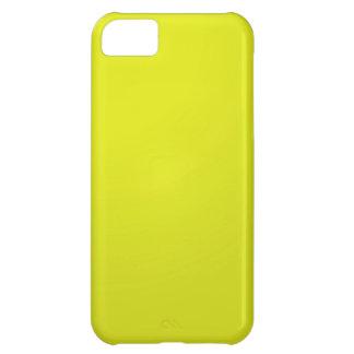 Gul guld- färg skuggar förbigår: Tillfoga text iPhone 5C Fodral