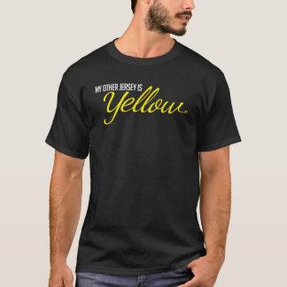 Gul Jersey T skjorta T Shirt