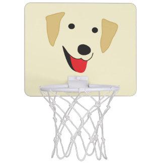 Gul lab ansikte Mini-Basketkorg