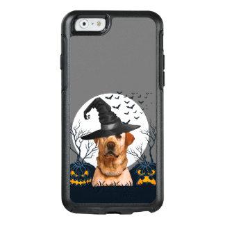 Gul lab Halloween pumpa lappar OtterBox iPhone 6/6s Fodral