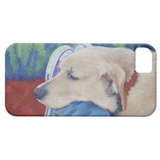Gul lab Labrador Retriever iPhone 5 Case-Mate Skydd