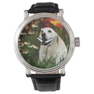 Gul labrador retriever armbandsur