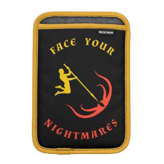 Gul mästare VS röda tentakel Sleeve För iPad Mini