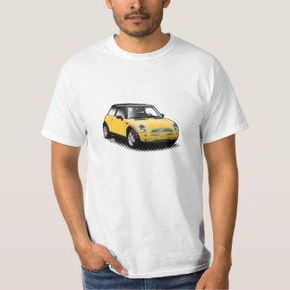 Gul modern mini- bilT-tröja Tröjor